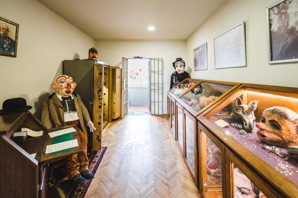 Fotografie k Muzeum milevských maškar