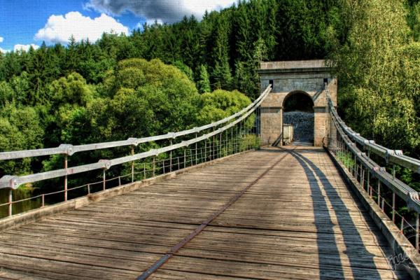 Fotografie k Stádlecký řetězový most