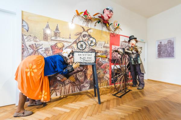 Foto k Muzeum milevských maškar