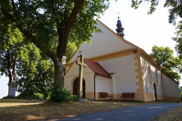 Fotografie k Kostel sv. Jana Křtitele a Panny Marie