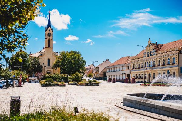 Fotografie k Náměstí E. Beneše